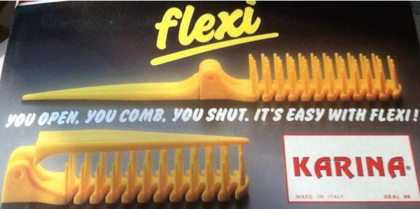 Flexi comb Karina made in Italy
