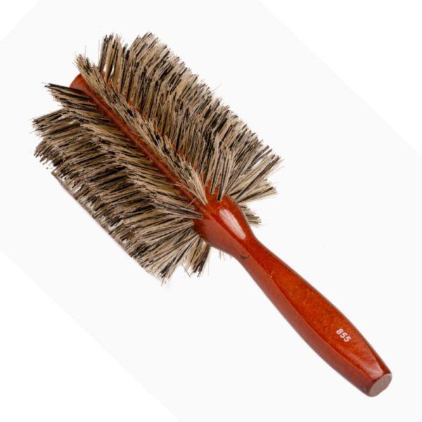 Long-Boar-Bristle-Round-Brush